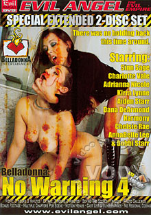 Belladonna: No Warning 4 (Disc 1)